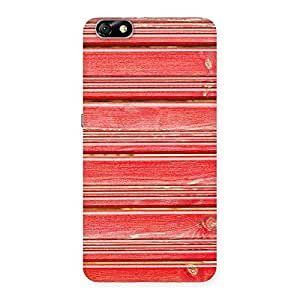 Cute Red Woodlock Print Back Case Cover for Honor 4X