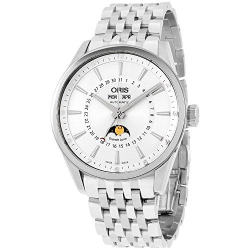 Oris Artix Complication Silver Dial Automatic Men's Watch 91576434031MB