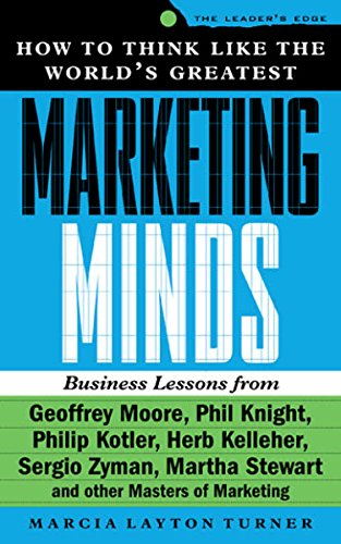 How to Think Like the World's Greatest Marketing Minds: Business Lessons from David Ogilvy, Phil Knight, Philip Kotler, Herb Kelleher, Sergio Zyman, Martha ... Masters of Marketing (The Leader's Edge)