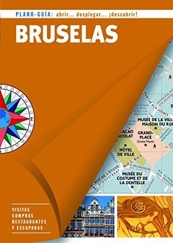 Bruselas (Plano-Guía): Visitas, compras, restaurantes y escapadas (Plano - Guías)
