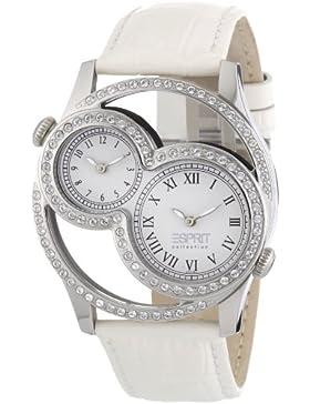 Esprit Damen-Armbanduhr Metess Analog Quarz Leder EL101212F02