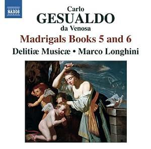 Madrigaux (Livres 5 et 6)