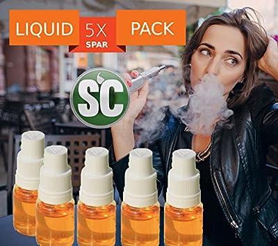 5x 10ml SC E-Zigaretten Liquid Sparset Erdbeer-Minze ZERO 0,0mg Nikotin (nikotinfrei) von InnoCigs GmbH & Co. KG