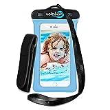 WaterHero - AUDIO-JACK interno - Cover impermeabile ad alta qualità per iPhone & Android - Foto & video sott'acqua - Impermeabile fino a 30m - Adatto a qualsiasi cellulare - Garantito a vita