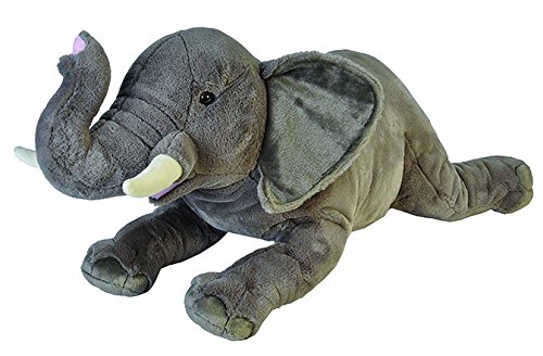 Wild Republic - CK Jumbo Elefante Africano de Peluche, 76 cm (19552)