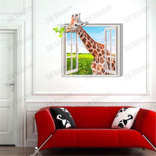 chenooxx-3d-fenster-von-giraffe-wand-tapeten-schlafzimmer-wohnzimmer-fernseher-sofa-hintergrund-hd-s