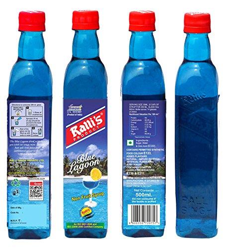 Ralli's Blue Lagoon Syrup 500Ml.