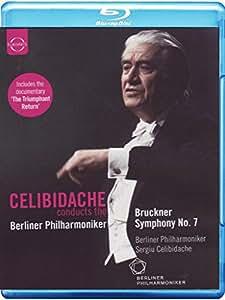 Bruckner: Symphony No. 7 (Philharmonie Berlin 1992) (Euroarts: 2011404) (Berliner Philharmoniker/ Sergiu Celibidache) [Blu-ray][Region Free] [2012]