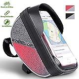 Fahrradlenkertasche Handyhalterung Fahrradtasche Rahmentasche Wasserdichter TPU Touchschirm für Smartphones Innerhalb von 6 Zoll für Alle Fahrradtypen
