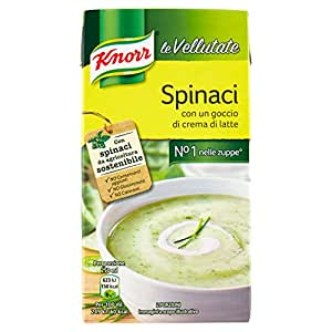 Knorr - Spinaci, Con Un Goccio Di Crema di Latte -  500 ml