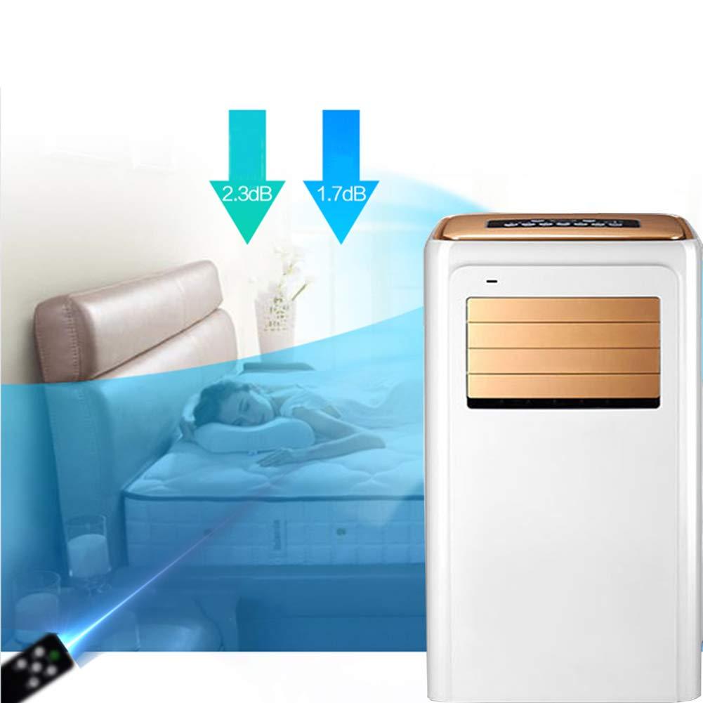 LJYLQW Tragbare Klimaanlage,4-in-1 Mobile Klimaanlage,Luftkühler, Heizung, Luftentfeuchter, Nachtmodus,Klimagerät mit…