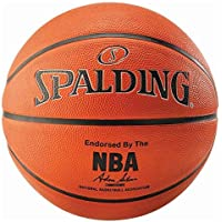 Spalding - Pallone da basket Nba, misura 7, colore: Arancione