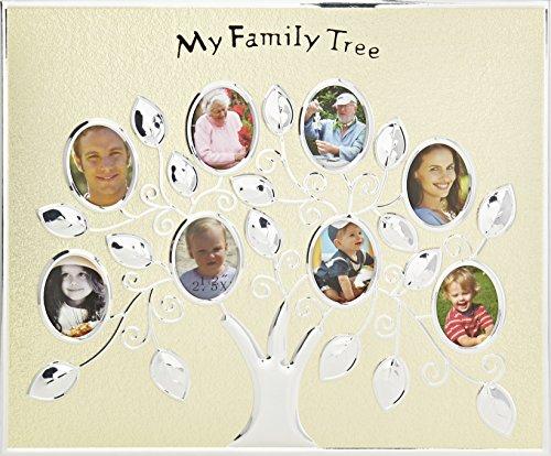 Umarmungen & mehr Familie Baum Foto Rahmen (Gold) (5 Generation Bilderrahmen)