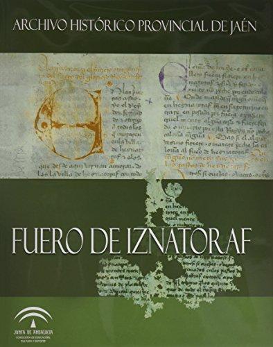 Fuero de Iznatoraf: transcripción y estudio