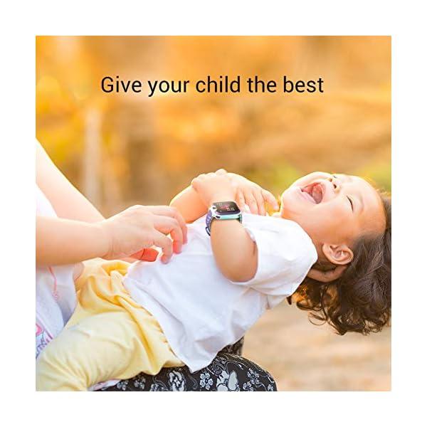 Smartwatch para niños, Smart Watch Phone con Reproductor de música, SOS, 1,44 Pulgadas, Pantalla táctil LCD con cámara Digital, Juegos, Despertador para niños y niñas 7