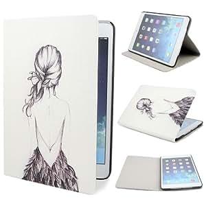 ivencase B10 Flower fiore Custodia in pelle protettivo Flip skin Case Cover per Apple iPad mini