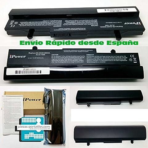 Batería Nueva Compatible para Portátiles Asus EeePc Eee Pc ml31-1005 Li-Ion 10,8v 5200mAh
