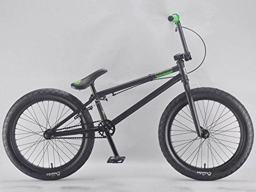 20 Zoll mafiabikes BMX Bike MADMAIN verschiedene Farbvarianten Harry Main, Farbe:schwarz matt