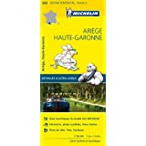 Carte Ariège, Haute-Garonne Michelin