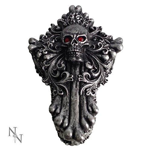 Nemesis Now-Teschio Fossil Crypt Box 15cm