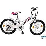 20 Zoll Fahrrad Kinderfahrrad Mountainbike Mädchenfahrrad MTB Bike Rad Weiss NEU