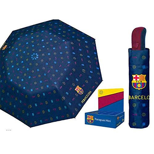 PERLETTI Paraguas antiviento Plegable FC Barcelona