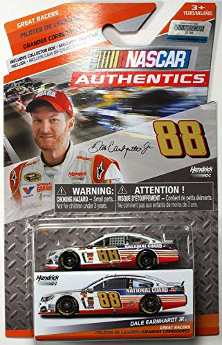 Guard Jr Dale (NASCAR Authentics Great Racers 2014 Dale Earnhardt Jr. National Guard Chevrolet Impala SS Hendricks Motorsports)
