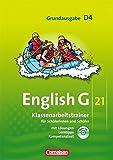 English G 21 - Grundausgabe D / Band 4: 8. Schuljahr - Klassenarbeitstrainer mit Lösungen und Audio-Materialien