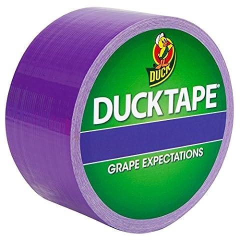 Duck Tape Ruban Adhésif de Masquage Couleurs Lie de Vin 48 mm x 9.1m