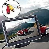 Sedeta® 5-Zoll-LCD-Screen-Display Auto-DVD-VCR Player Rearviewkameras Rückwärts-Monitor