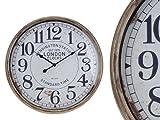 Unbekannt Bahnhofsuhr Wanduhr 50cm Vintage Retro Look Anitk Clock