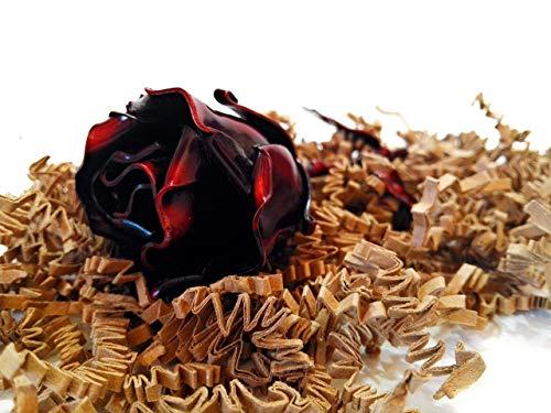 Natale compleanno copia fidanzata Sant Jordi /♥ Rosa Eterna fatta di Ferro Battuto RossoIdeale come regalo per San Valentino la Festa della Mamma decorazione interno