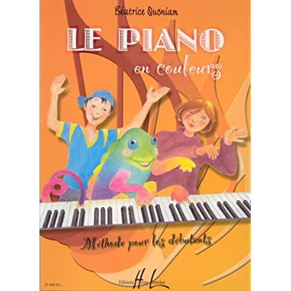 Piano en couleurs