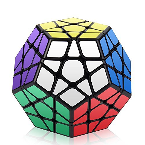 Roxenda Megaminx Speed Cube, 3x3x3 Pentagonale Speed Cube Dodecahedron Cubo Magico Puzzle Giocattolo (T1)