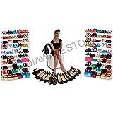 Zapatero de 50 pares de zapatos increíble nuevo organizador del armario para ahorrar espacio mws993