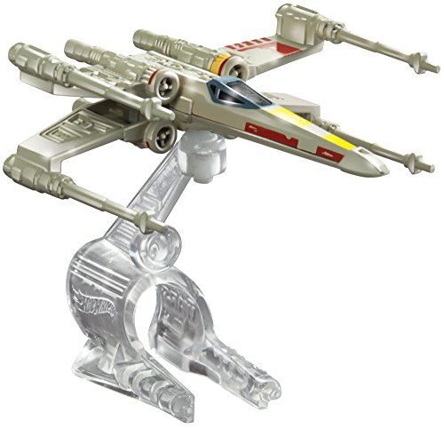 Hot Wheels - Star Wars: Caccia X-Wing Fighter, Red 5