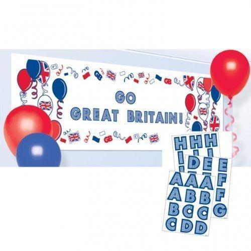 Großbritannien Union Jack Machen Sie Ihre Eigene Personalisiert Banner