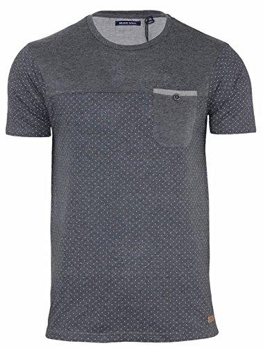 Brave Soul Herren T-Shirt X-Large Anthrazit