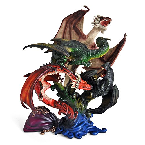 Harry Potter Sculpture Dragons of The First Task 27 cm Noble Collection Statues (Ron Harry Collection Noble Potter)