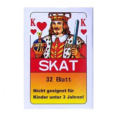 Gravidus 24 x Skat Kartenspiel 32 Blatt französisches Bild