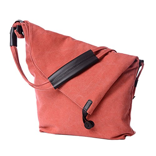 Supa Moden,borsa da spalla in tela, tracolla, shopper, donna, Grey Orange