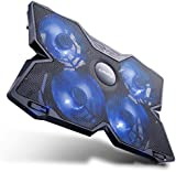 [Laptop Cooling Pad] E-PRANCE® X4 17 Inch Laptop Cooler with 4 Fans at 1200 RPM,Ultra-Portable,Light Weight