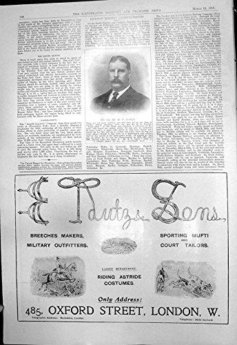 Antiker Druck Späten Sport-Feldes E Tamtz B C Evelegh u. der Söhne, die Kostüme 1910 (Kostüme 1910)
