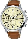 Lorus Reloj Cronógrafo para Hombre de Cuarzo con Correa en Cuero RM355EX9