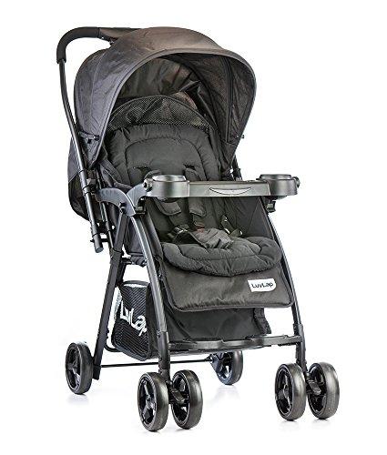 Luvlap Joy Baby Stroller (Black)