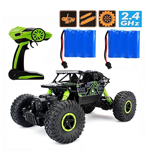 RC Rock Crawler,CrossRace Ferngesteuertes Auto,1:18 RC Auto,4WD Monster Truck/Off Road...