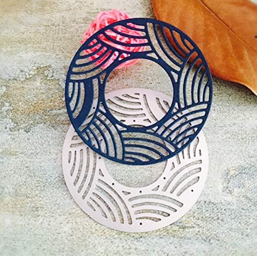 TianranRT Metall Schneiden Dies Schablonen Für DIY Scrapbooking Foto Album Papier Karte Geschenk (A) (Puzzles Und Drachen-geschenk-karte)
