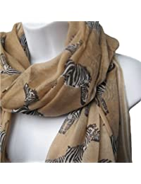 Hot Zebra Print Scarf Animal Fashion Scarves