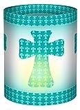 Ursus 18400052 - Mini Tischlichter Ambiente, Joy, 115 g/qm, 5 Stück, Kreuze