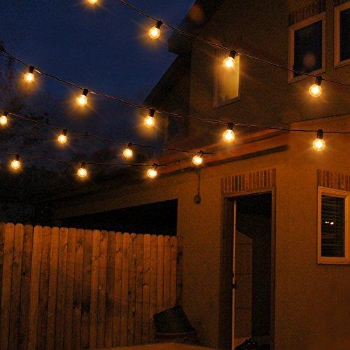 Catene luminose, luci esterne a corda, [Versione aggiornata] luci ...